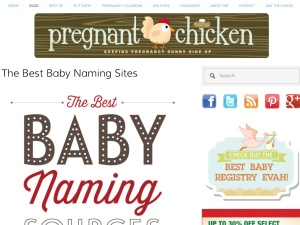 Pregnant chicken