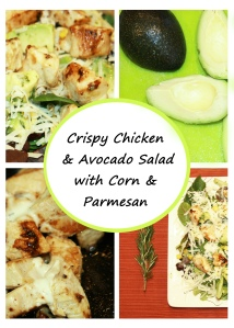 Cripsy chicken salad Feature Image vertical