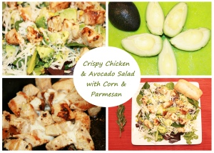 Cripsy chicken salad Feature Image